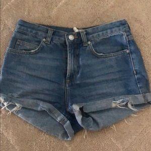 Topshop Jean shorts